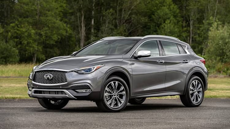 Infiniti went out of its way to make the QX30 not a Mercedes