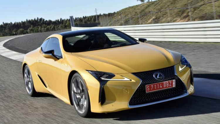The 2018 Lexus LC starts under $100k, but stay away from the options list