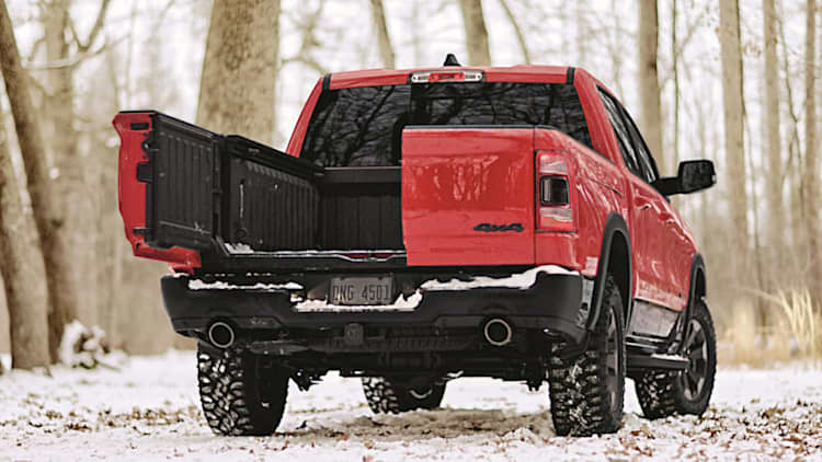 How the Ram Multifunction Tailgate compares to Ford, GMC, Honda