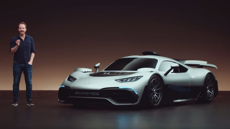 Mercedes-AMG Project One details revealed in private session with 'Top Gear'