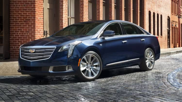 GM invests $175 million to replace 3 Cadillac sedans with 2