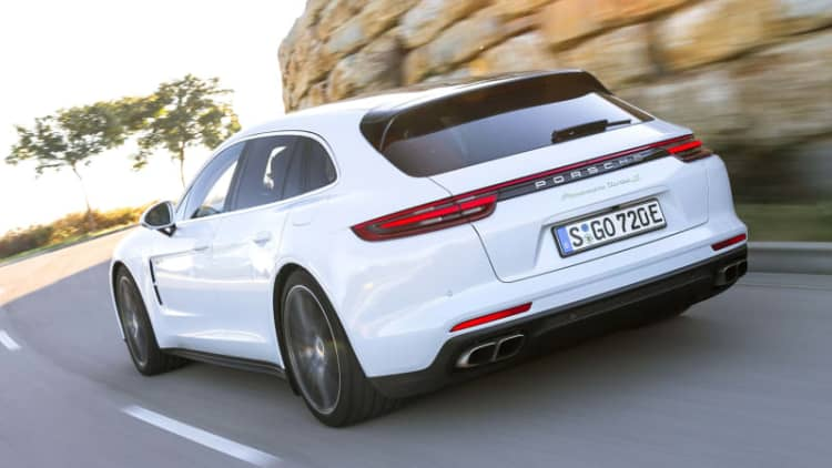 Porsche Panamera hybrids are so popular, battery makers struggling to keep up
