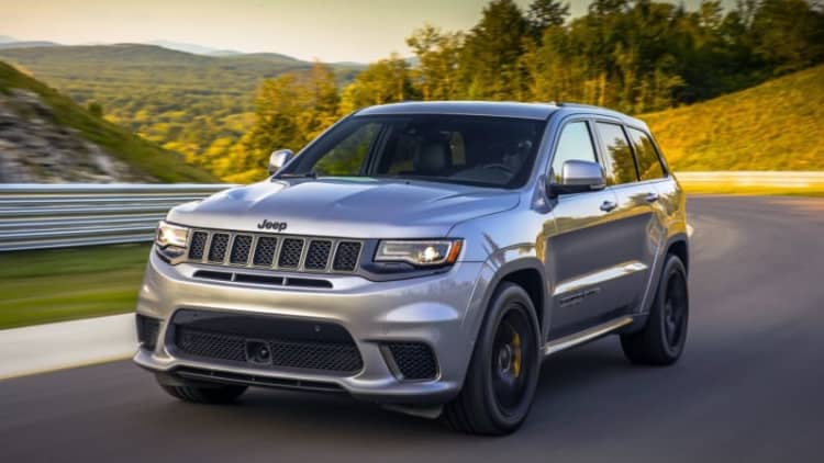 2018 Jeep Grand Cherokee Trackhawk First Drive | Crazy. Good.