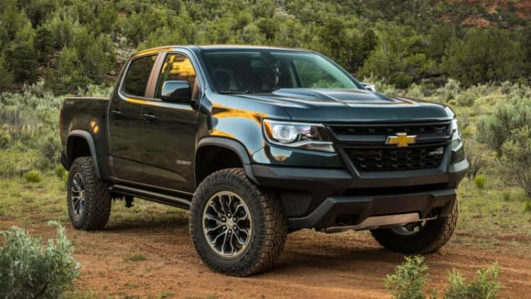 GM to fix unexpected airbag deployment problem on Colorado ZR2 trucks