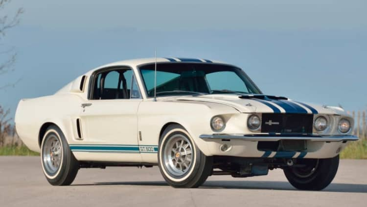 The most expensive Mustang ever just sold for $2.2 million