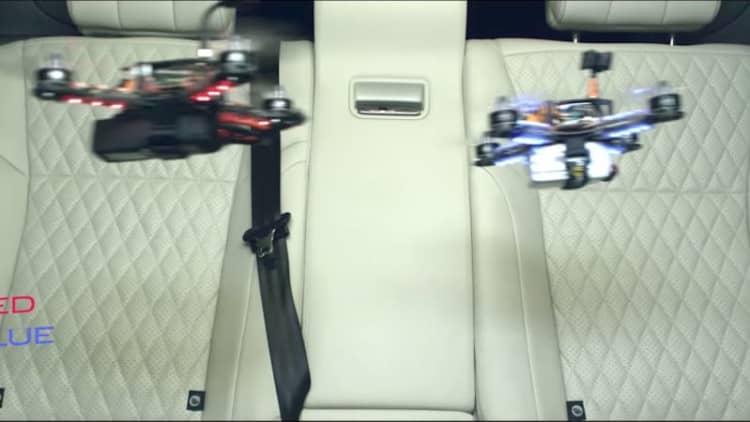 2018 Jaguar XJ stars in 'Game of Drones'