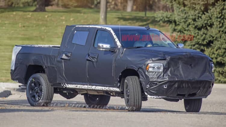 Next Ram 2500 and 3500 heavy-duty trucks look more conservative than 1500