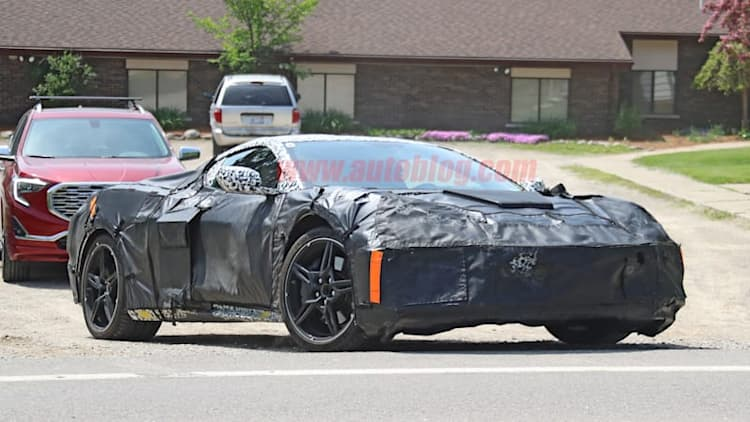 Listen to the mid-engine Chevy Corvette in on-road video