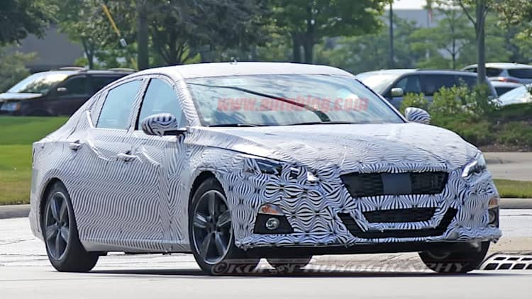 First look at 2019 Nissan Altima reveals Maxima-inspired design
