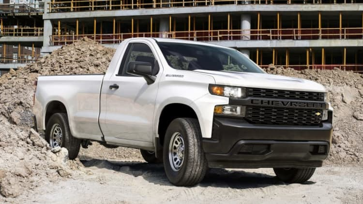 2019 Chevy Silverado 1500 regular cab is coming soon