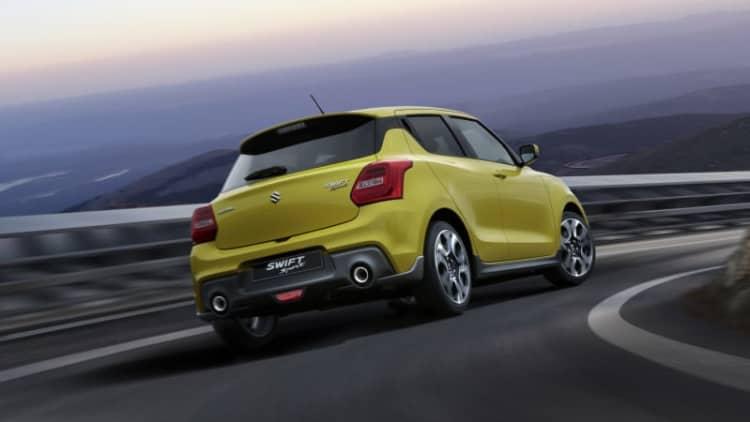 New Suzuki Swift Sport to be lighter and torquier