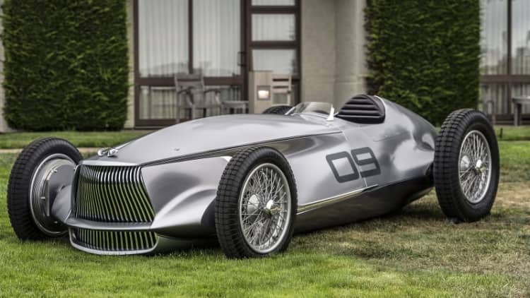 At long last, Infiniti plans a production EV