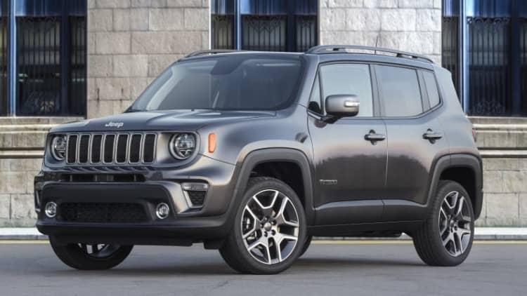2019 Jeep Renegade, Fiat 500X fuel economy revealed, slightly improved