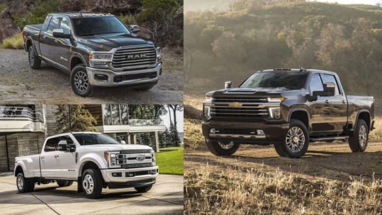 2020 Chevy Silverado HD vs. 2019 Ram, Ford heavy duty trucks: How they compare on paper