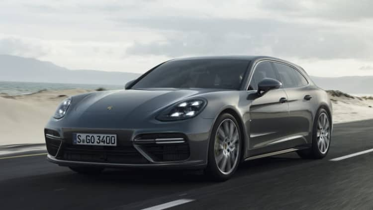 2018 Porsche Panamera Turbo Sport Turismo Drivers' Notes | Wagon week