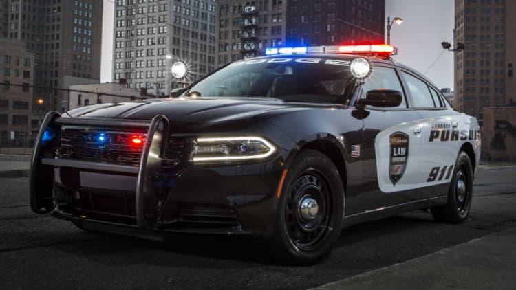 2018 Dodge Charger Pursuit ambush prevention system enhanced to protect cops