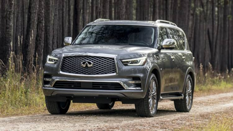 2018 Infiniti QX80 Drivers' Notes Review | Big, brash and big
