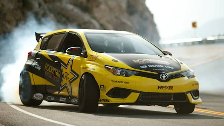 This 1,000-horsepower, rear-drive Toyota Corolla iM could be yours