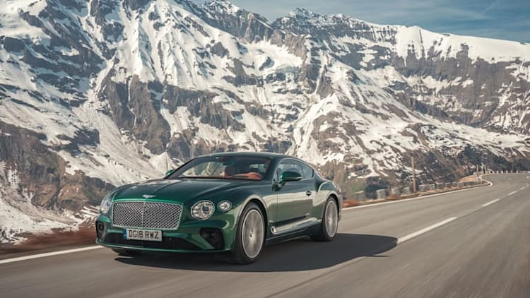 2019 Bentley Continental GT First Drive Review | A grand tourer learns to dance
