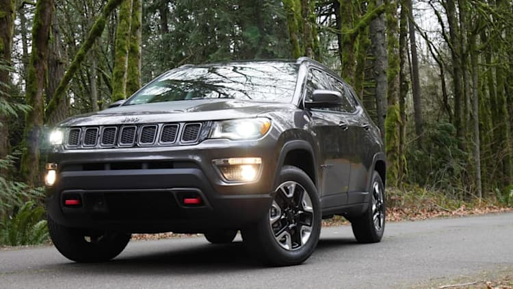 2018 Jeep Compass Trailhawk Drivers' Notes Review | Trying to find its way