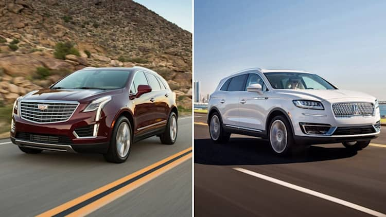 2019 Lincoln Nautilus vs 2018 Cadillac XT5: How they compare on paper