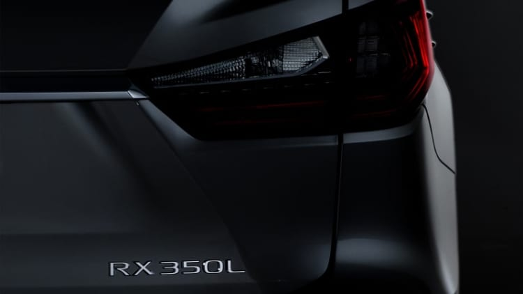 Lexus RX L coming to L.A. with 3 rows of seats