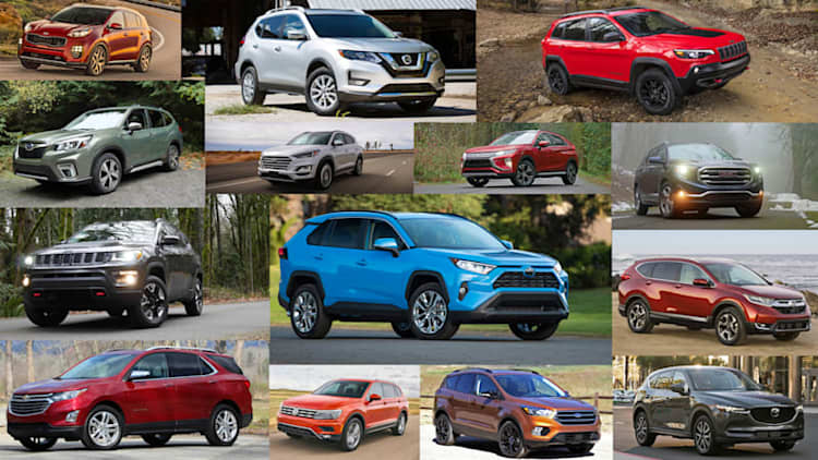 Toyota RAV4 vs. every compact SUV: How they compare on paper