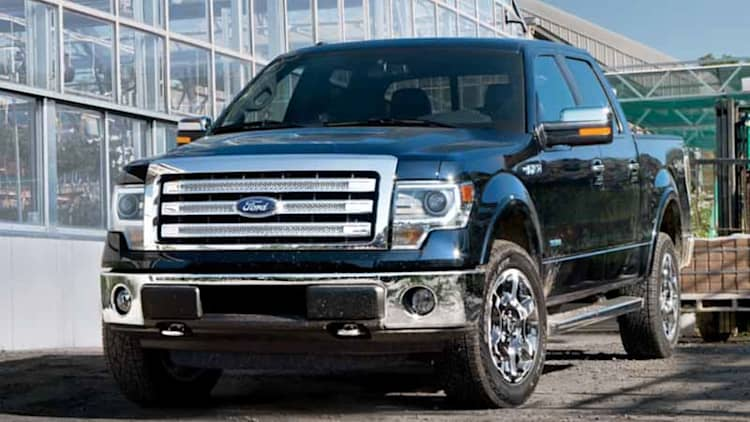 Ford recalls 1.48 million F-150s for transmission, plus other models