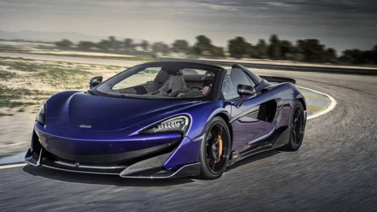 McLaren 600LT Spider First Drive Review | A Longtail benchmark