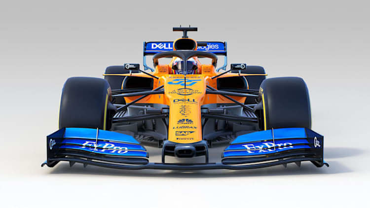 McLaren's new F1 car is love at first sight for driver Carlos Sainz