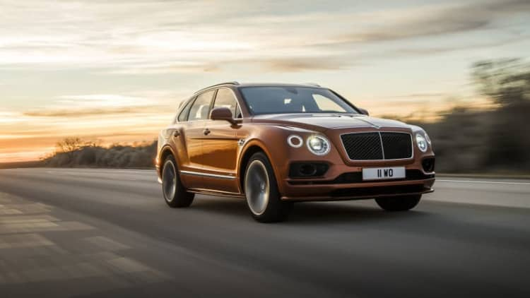 New 2020 Bentley Bentayga Speed tops out at 190 mph