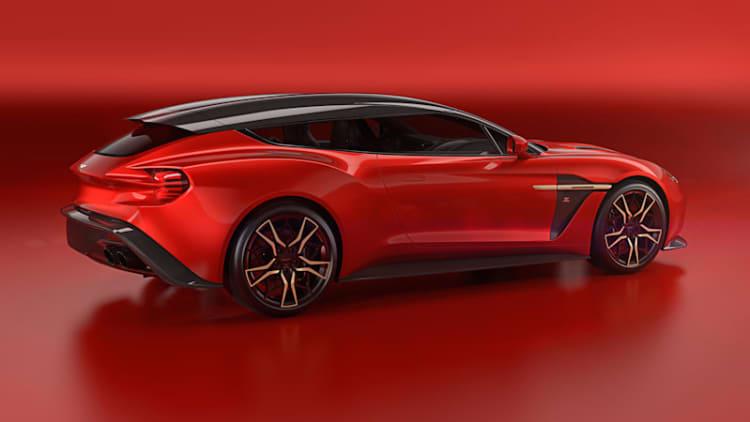 Aston Martin Vanquish Zagato Shooting Brake finishes a quartet Q would envy