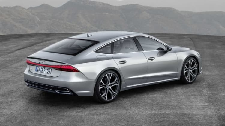 2019 Audi A7 revealed: More torque, refined styling