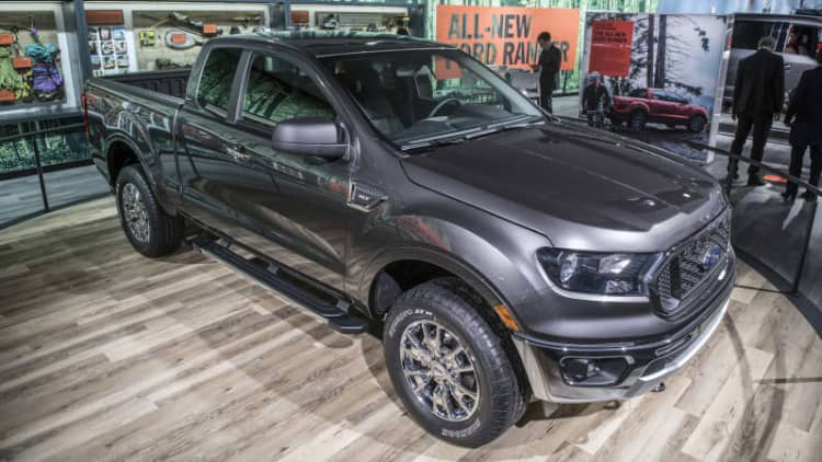 2019 Ford Ranger fuel economy officially announced