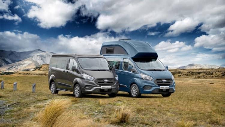 Westfalia helped develop Ford's adorably named Transit Nugget camper van