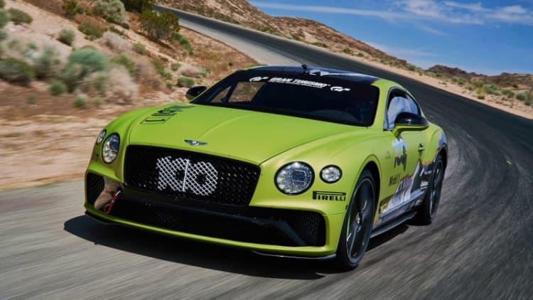 Bentley unveils Rhys Millen's Pikes Peak Continental GT for record attempt
