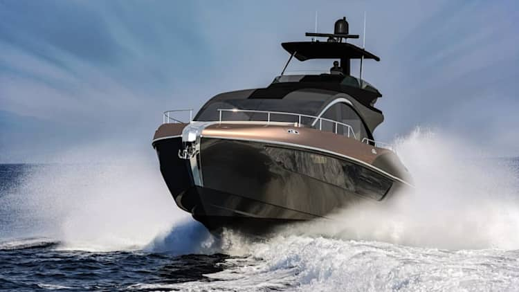 Lexus LY 650 luxury yacht is its fourth flagship