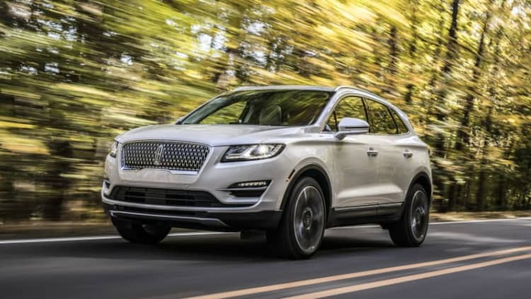 Lincoln Corsair reportedly on track for 2020 as replacement for MKC