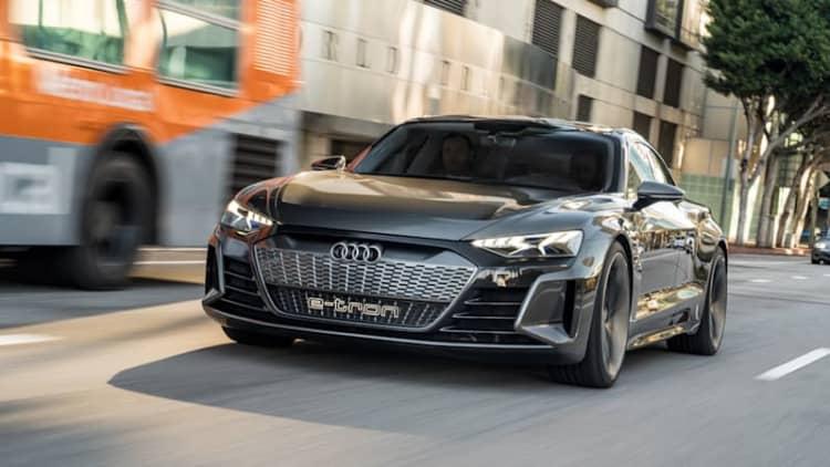 2021 Audi E-Tron GT Concept Drive | Charging ahead