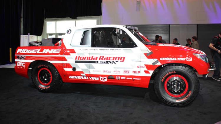 Honda Baja race truck previews 2017 Ridgeline at SEMA [w/video]