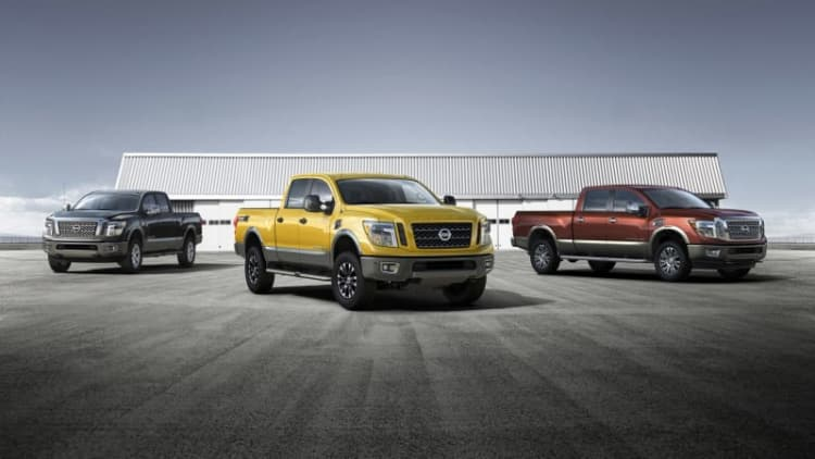 2016 Nissan Titan XD with gas-fueled V8 starts at $36,485
