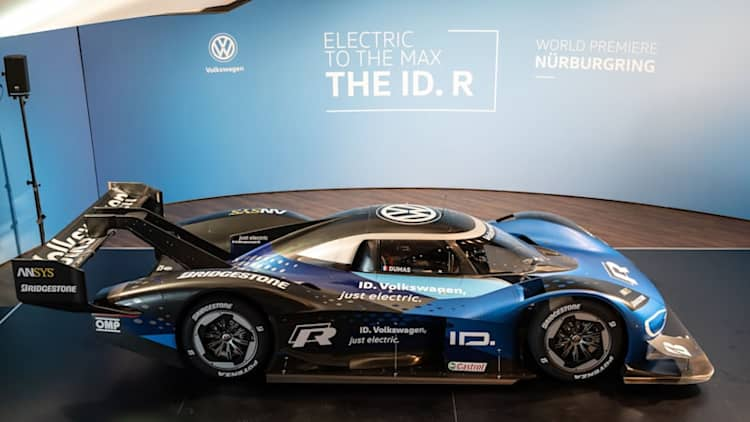 VW ID. R's Nürburgring EV record attempt is aimed at Thursday