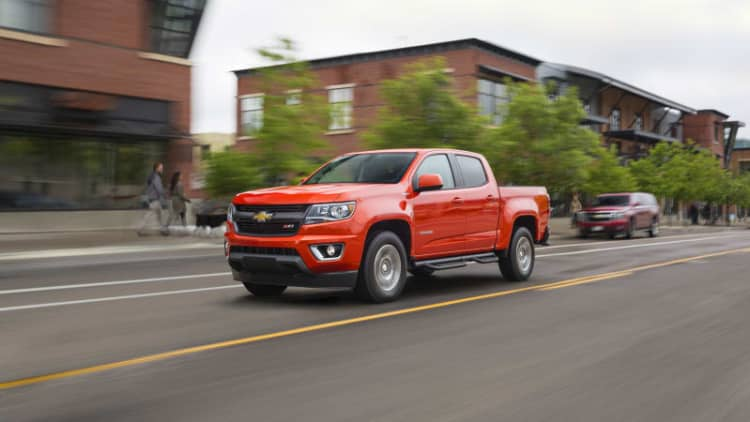 GM recalls Colorado, Canyon, and Malibu for airbag problem