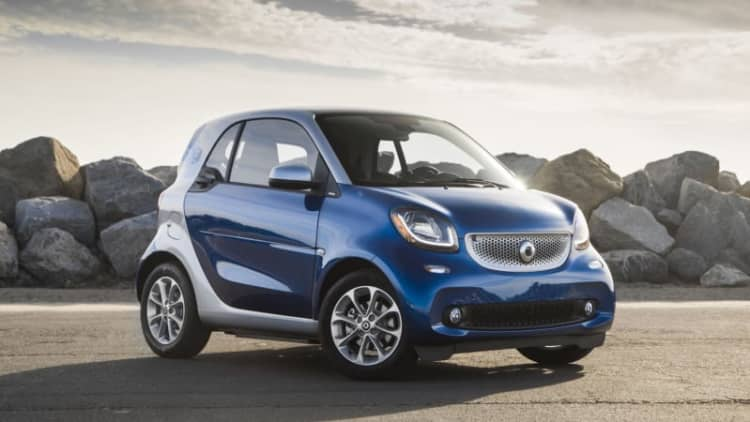 Smart ForTwo Electric Drive Quick Spin Review | The saddest way to spend $25,000