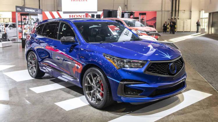 Acura builds 345-horsepower RDX A-Spec for SEMA