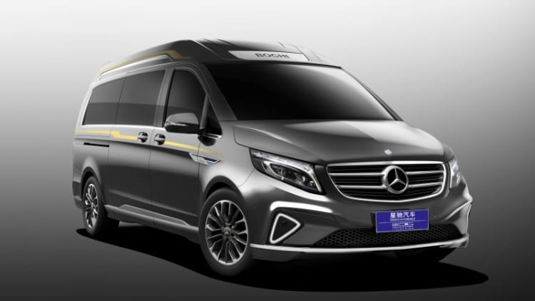 Vulcanus is a Mercedes-Benz Metris with a great name, better interior