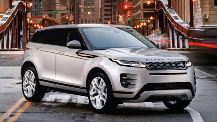 2020 Range Rover Evoque pricing announced at Chicago Auto Show