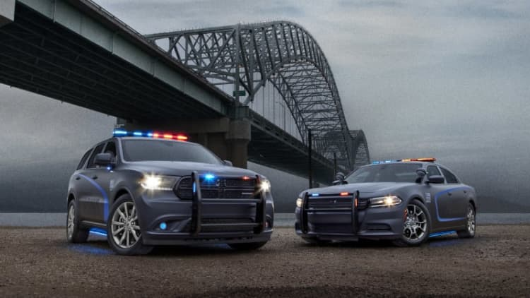 2018 Dodge Durango Pursuit SUV is the tall arm of the law