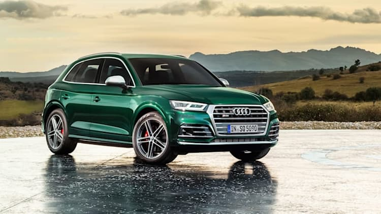 Audi SQ5 TDI is a performance diesel crossover we won't get
