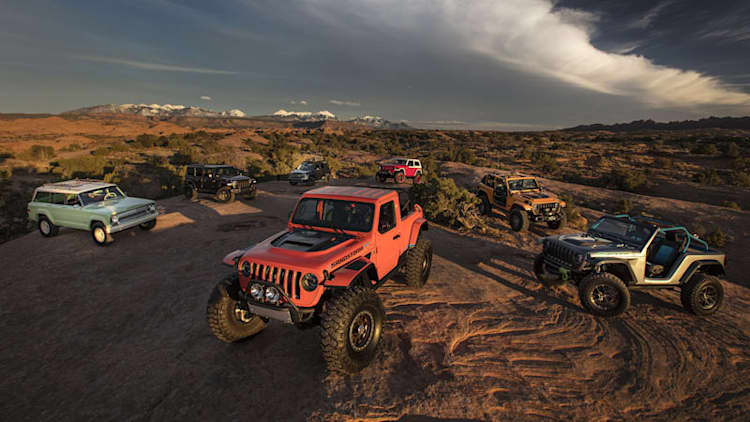 We test the latest Easter Jeep Safari off roaders in Moab